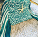 手編みハンドポーチ