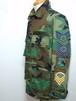1980's U.S.AIR FORCE 袖ワッペンカスタム ウッドランドカモBDUジャケット 表記(S-REGULAR) カバーオール