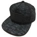 [A or J] Rubber Wappen Melange Cap / Black