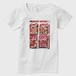 Strawberry Fields Forever Tシャツ 白 レディース Tシャツ レディース 白 レディース Sサイズ トナー熱転写