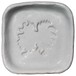 ポメラニアンのシルエットが浮かぶお醤油小皿(四角)