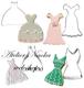 ドレス抜き型(4種類)