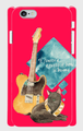 選べるカラー《ロック》*iphone・Android側表面印刷スマホケース