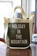 MOUNTAIN RESEARCH SHOULDER TOTE BAG