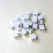 白10mm木製キューブ(約150個)