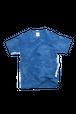 NO.640 藍染デザインTシャツ【Mサイズ】