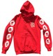 MNM RED HOODIE
