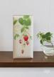 香箱(細長)手漉き和紙・苺蔦