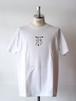 FUJITOSKATEBOARDING Print T-Shirt  White (Mark ver.)