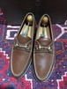 .GUCCI LEATHER HORSE BIT LOAFER MADE IN ITALY/グッチレザーホースビットローファー 2000000033693