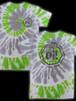 【即納】oi!ロゴ半袖Tシャツ(緑×灰タイダイ)