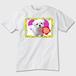 ももちゃんの世界001 Tシャツ ※お肌にやさしいガーメントインク印刷
