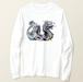 whiteDragon-白龍長袖Tシャツ