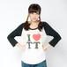 TT Raglan T-shirts(Black × White)