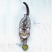 C-43 キジトラ(短毛)-猫の振り子時計