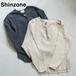 THE SHINZONE/シンゾーン・リブフロントボタンプルオーバー