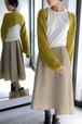 ROOM211 / Short Knit Cardigan (mustard)