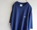 1990's USA製 [adidas] エキップメントロゴ ワンポイント刺繍Tシャツ ネイビー 表記(XL) アディダス