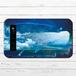 #068-004 モバイルバッテリー クジラ かわいい おしゃれ 星空 ファンタジー iphone スマホ 充電器 タイトル:鯨乗りの少女 作:アスマル