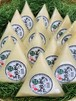 健康食大粒*自然栽培の手作り藁菌納豆 15個セット