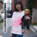 【在庫分のみ】ばぶちゃん成れるTシャツ(白昼夢のララバイおやすみホワイト)