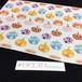 【千代紙】【デザインペーパー】【和紙】カラフルかぼちゃ