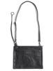 Leather shoulder bag 'ring strap' oil tanned サコッシュ 172ABG08