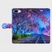 (iPhone8Plus/7Plus サイズ)手帳タイプ:夢色の軌道(KAGAYA)