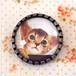 猫 ブローチ アビシニアン A