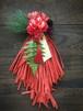 2019年アートなカラーしめ縄スワッグ45cm 3色 オシャレ モダン お正月飾り 正月飾り アーティフィシャルフラワー