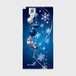 【ARROWS NX (F-02H)】Winter Holiday Royal Blue ウィンター・ホリデー ロイヤルブルー ツヤありハード型スマホケース