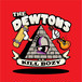 "the dewtons / kill bozy! 7"" on RED vinyl"