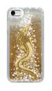 グリッタークリアケース【iPhone6/6s/7/8】豊かさの金龍 Golden Dragon of Abundance