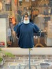 KIDS:NEEDLE WORKS STANDARD【ニードルワークススタンダード】Frill T-shirt(BLACK/80〜150cm)フリルTシャツ