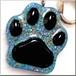 オルゴナイトキーホルダー*肉球型♡オルゴニャイト*(ブルー)