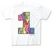 君と僕との1周年Tシャツ(ブラック / ホワイト)