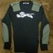 """【HAMATOLA!】 Padded Motorcycle Sweater """"White Sable Tiger"""""""