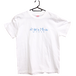 Tシャツ「Niigata Music Post」白×空色 S/M/L