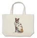 猫祭 猫のルーシー A3  Lバッグ キャンバス地 しっかりとした素材