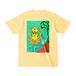【グッズ】送料込「だべイカ」Tシャツ [色:ライトイエロー]