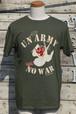 コテージレッドデビルonスワローTシャツ|UNnecessary ARMY NO WAR(ミリタリーグリーン)