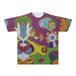 オリジナルTシャツ:にゃんこ作「アニマルコンポジション」