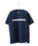 LOGO PRINTED T-SHIRT - NAVY