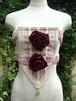 ストマッカー風装飾胸当て 時代衣装 バロックドレス装飾