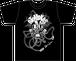 音まかす5th-Anniversary Tシャツ(BlackxWhite)+ステッカー