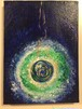 絵画(アクリル画)Cosmic Gaia