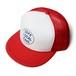 【MESH CAP】DOPE LOCAL SAKE/ホワイト x レッド