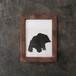 木彫りの熊のドローイングB / 原画(中サイズ)