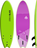 Storm Blade 6ft Swallow Tail Surfboard / Apple Green