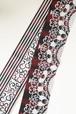 グラースオリジナル博多織小袋帯 アラベスク 赤